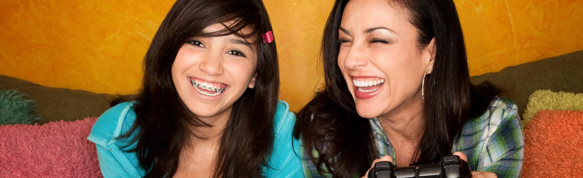 patients with braces Advanced Orthodontics in Kent WA